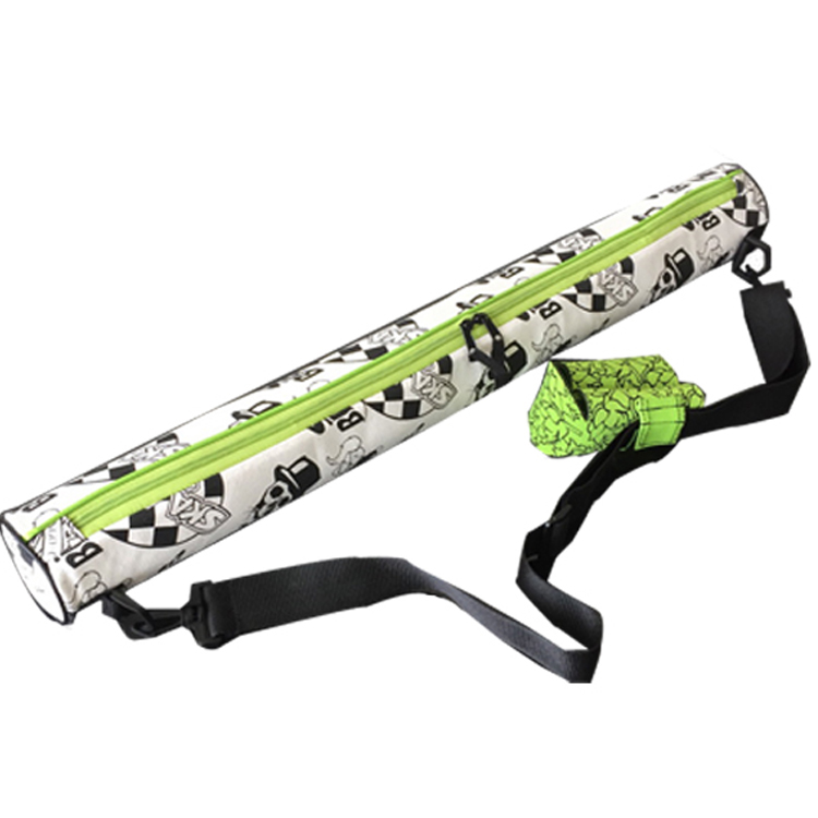 Insulated 6 Can Sling Cooler Bags With Shoulder Strap Custom Printing