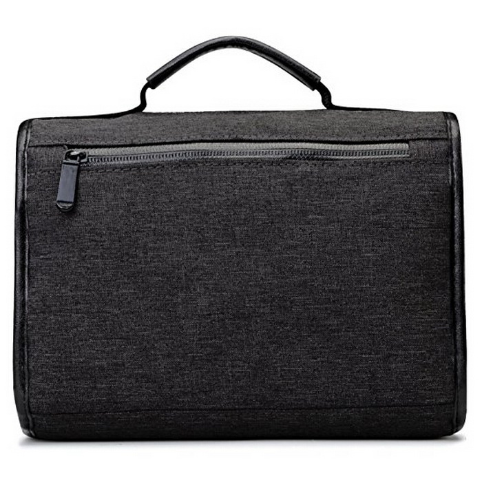 Hanging Toiletry Travel Organizer Bag For Men Roomy Collapsible Water Resistant