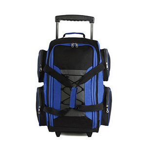 Waterproof 20 Inch Travel Trolley Luggage Bags With Multi Pockets
