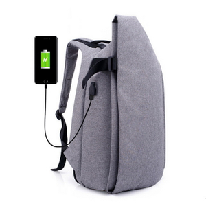 Waterproof Computer Business Laptop Backpack With USB Charging And Anti Theft Design