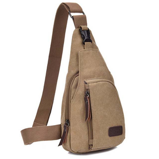 Best Waterproof Canvas Shoulder Sling Bag For Sports