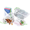 Recycled RPET Mesh Produce Bags With Drawstring For Grocery Shopping,Toy,Travel & Market