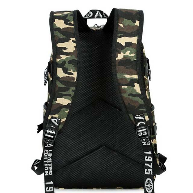 Best Camo Military Tactical Backpack Camping Hiking Rucksack