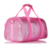 Stylish Shining Waterproof Small Sports Gym Duffle Travel Bag For Womens