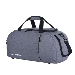 LUCKIPLUS Travel Backpack Sports Gym Duffel Bag with Shoe Compartment